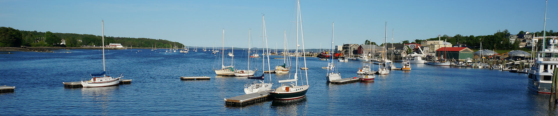 Belfast Maine Harbor